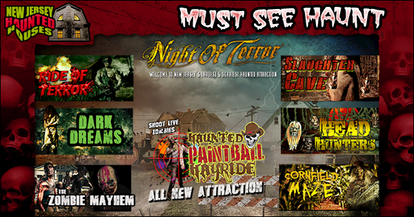 Night Of Terror At Creamy Acres New Jersey Haunted Houses