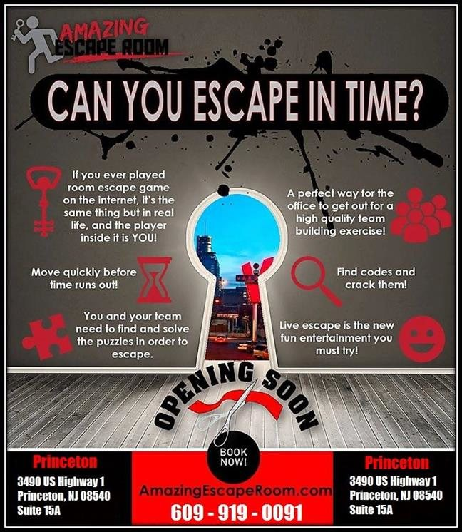 Princeton S Amazing Escape Room New Jersey Haunted Houses