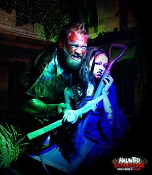 Valentine's Weekend at Haunted Scarehouse