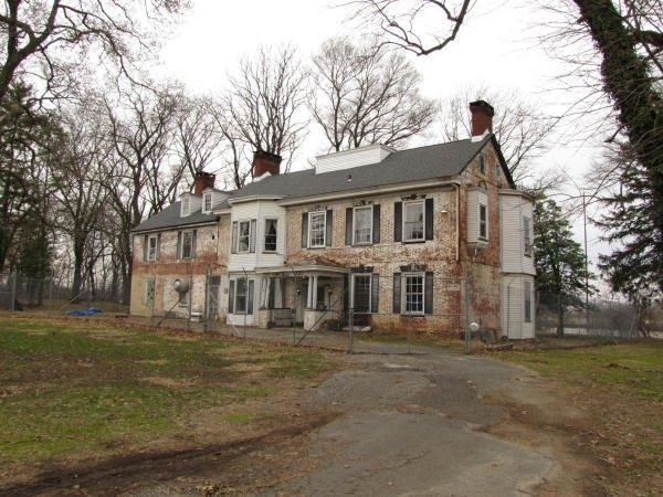 White Hill Mansion Fieldsboro New Jersey Real Haunted